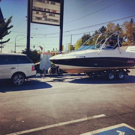 Awesome 1993 Crownline Wakeboard boat thousands less than new. Runs perfect drives perfect great wakeboard tower with awesome sound system. You won't see a better wakeboard boat anywhere near this price.. Huge tower puts off great wake. Best sound system in any boat under 40k. You have to see it and hear it.