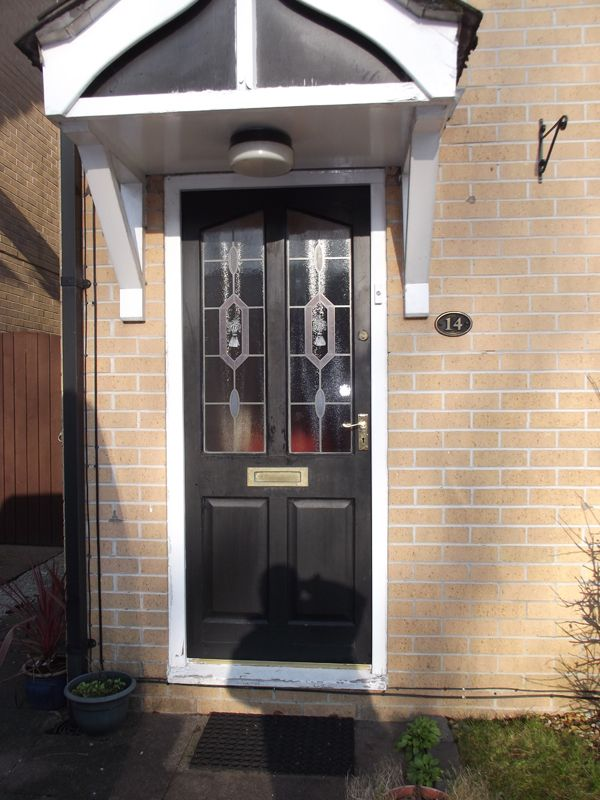 Triple Sealed Black Composite Door with bespoke canopy - 5 Star Rated Windows \u0026 Doors . HomeSafe Improvements in Wigan and North West England UK & 19 best Eurocell Composite Doors images on Pinterest | Entrance ...
