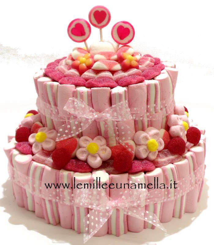 Estremamente Oltre 25 fantastiche idee su Torta di marshmallow su Pinterest  KA67