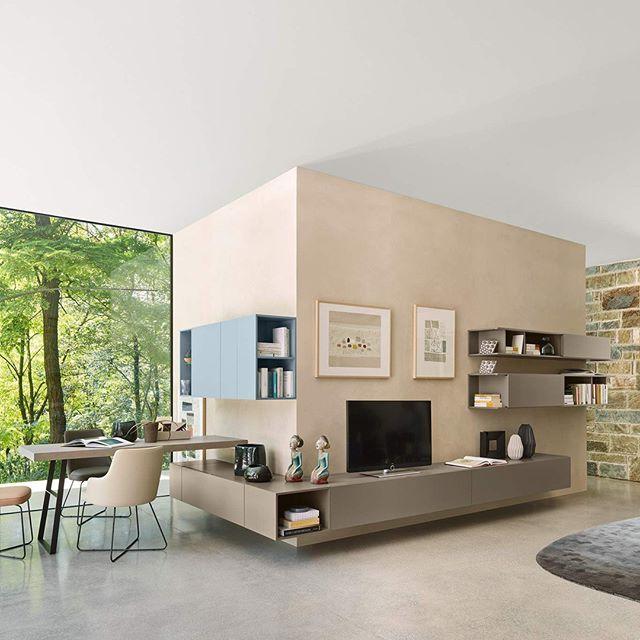 Eine Moderne Wohnwand Mit Viel Stauraum Und Leichtigkeit Speziell