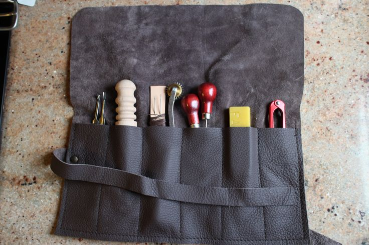 Leather sewing kit by www.bucklehurstleather.co.uk