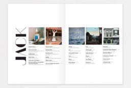 Tricky Ways to Create a Lively Magazine's Table of Content Design