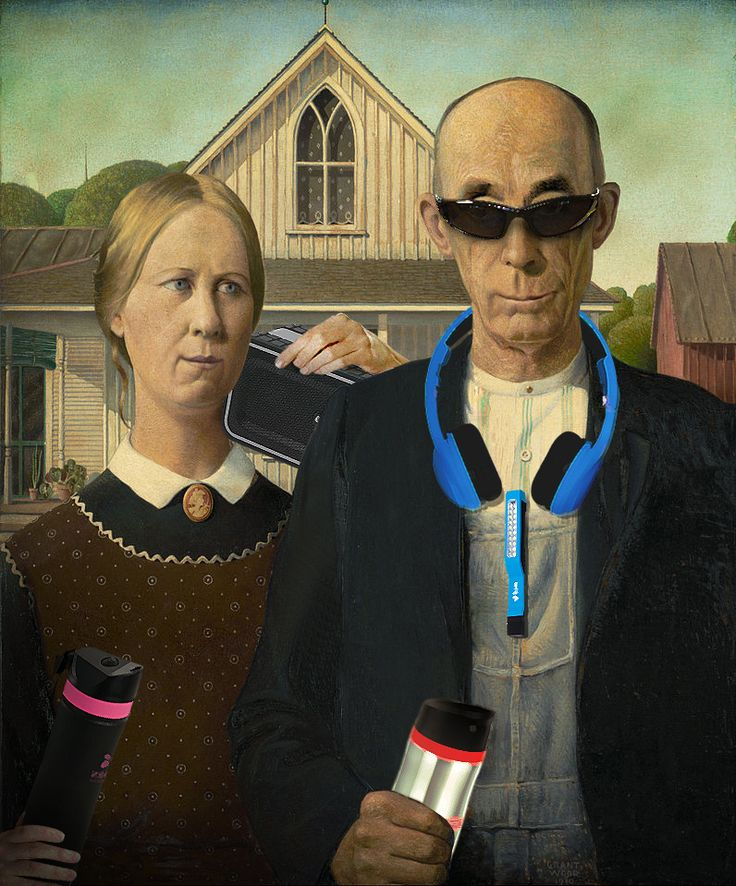 American Gothic with a new twist!