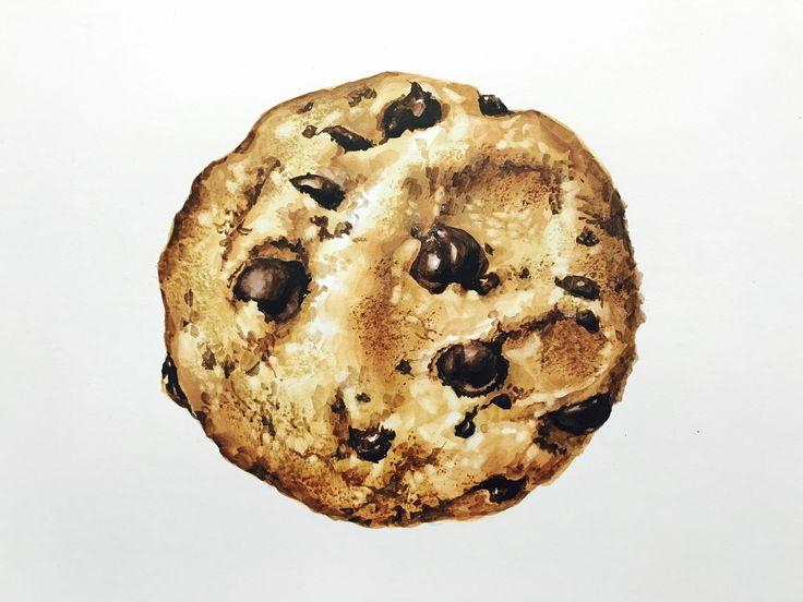 기초디자인 쿠키 개체묘사