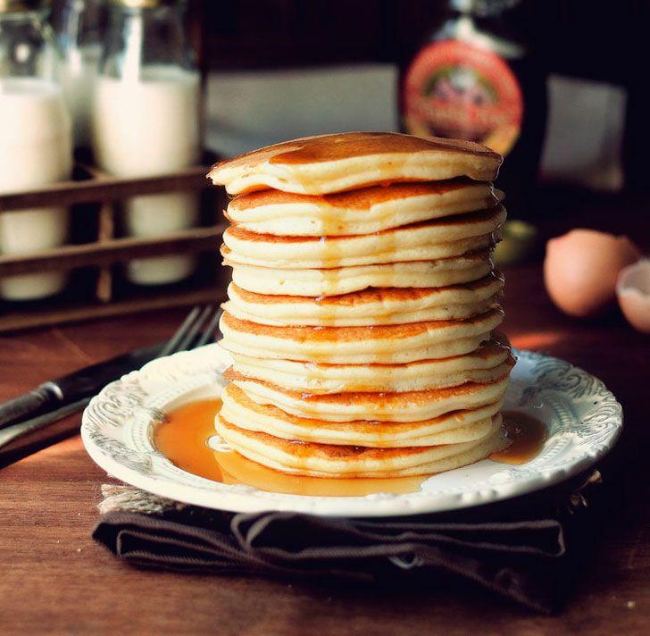 10 recetas de pancakes americanos para tener un desayuno de campeones