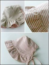 baby bonnet pattern can someone make this for me please!!!