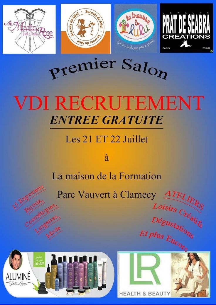 Plus de 1000 id es propos de salon de la vente for Salon vdi