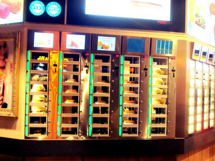 Amsterdam, Febo, Takeaway, Vending Machine