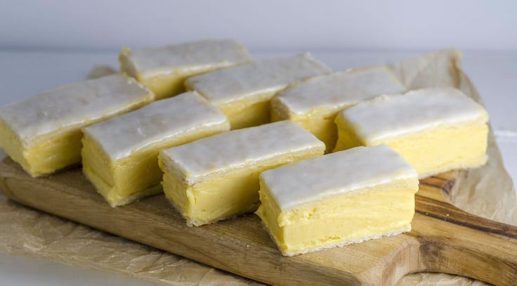 This is it! The ultimate classic bakery slice, made with the best quality Queen vanilla, it really can't be beat.