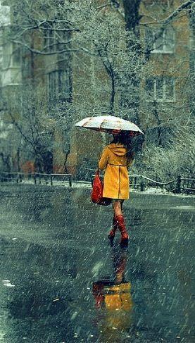 Caminando en la Lluvia