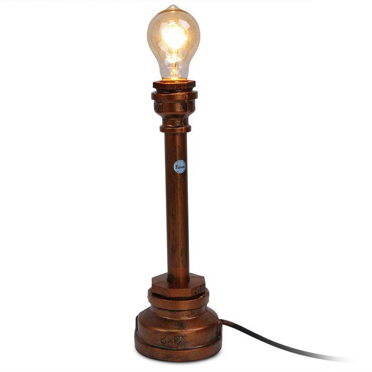 ber ideen zu nachttischlampe auf pinterest innenbeleuchtung tischleuchte und lampe beton. Black Bedroom Furniture Sets. Home Design Ideas