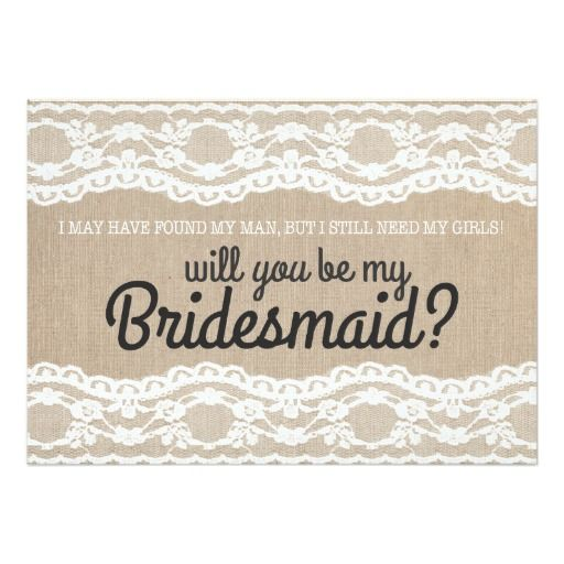 419 best Be My Bridesmaid Cards images on Pinterest Bridesmaid