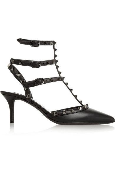 Valentino Rockstud leather pumps #Valentino