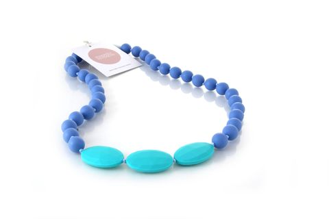Non-toxic teething jewels for mum + bub // chewable, washable, baby safe, eco-friendly, BPA free and waterproof  http://www.harperandhudson.com.au/