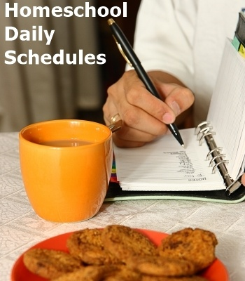 Every Bed of Roses: Homeschool Daily Schedules #homeschool #schedules