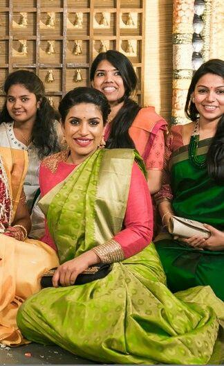 Bridal festivities.....has to be a Banarasi!!