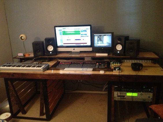 Miraculous 17 Best Ideas About Home Recording Studio Setup On Pinterest Largest Home Design Picture Inspirations Pitcheantrous
