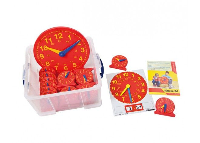 Großes Klassen-Set Uhren von Betzold bei Spielundlern online bestellen