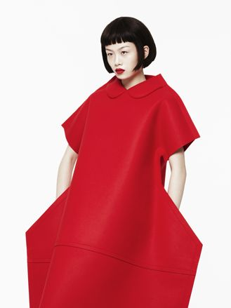 Comme des Garçons by Rei kawakubo http://www.wallpaper.com/design awards/ 2013