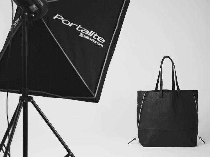Behind the scenes shot from last weeks shoot ✔️ #CF #shopper #bag