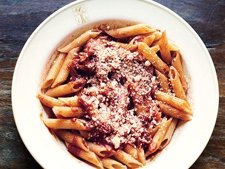 Pasta All'Amatriciana   Epicurious.com