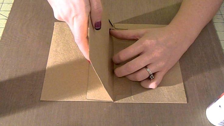 Envelope page for mini album tutorial!