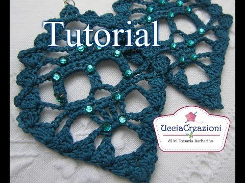 Tutorial 16. *Orecchini Teschio all ' Uncinetto Halloween * . How to Crochet Skull Earrings - YouTube