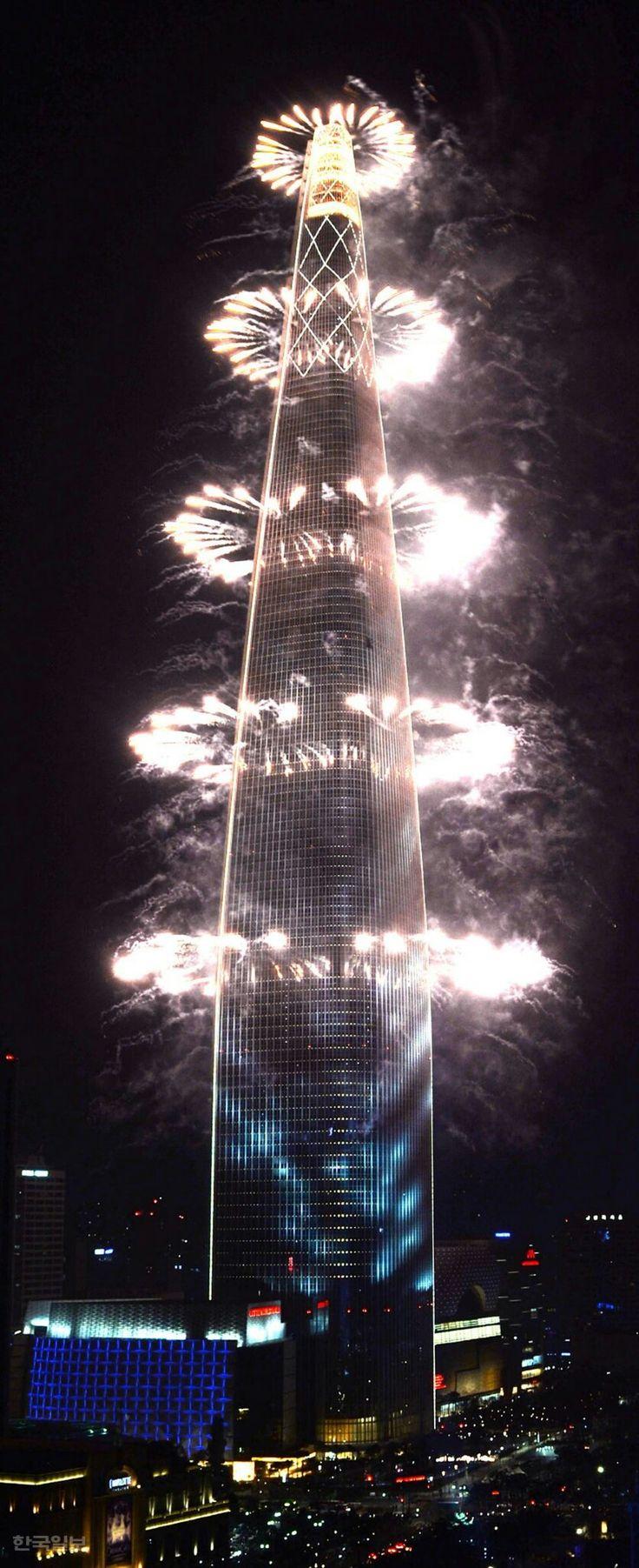 HAPPY NEW YEAR 2018  | Seoul Lotte World Tower | Korea