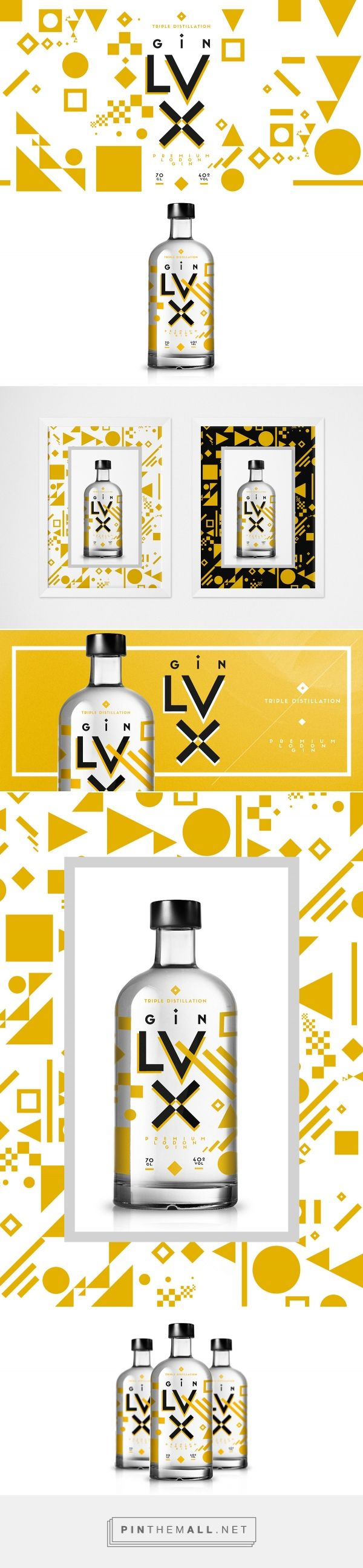 Lux Premium Gin Branding and Packaging by Homeland Studio | Fivestar Branding Agency – Design and Branding Agency & Curated Inspiration Gallery