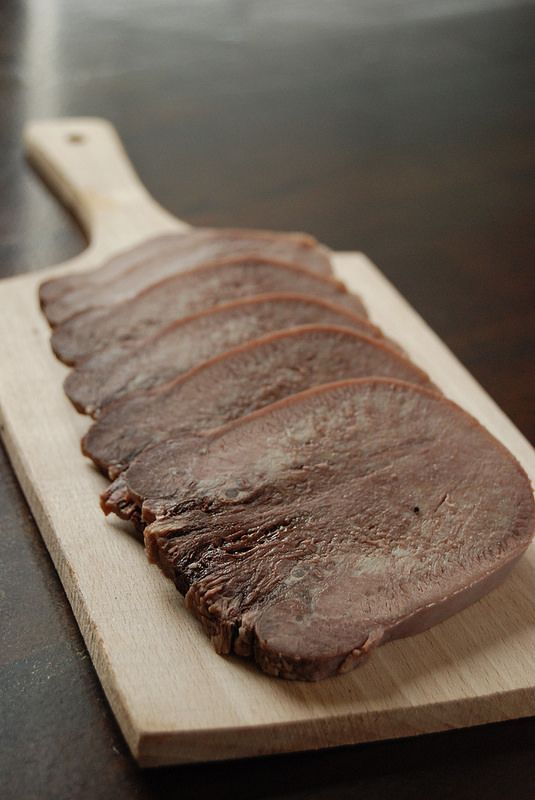 Smoked pork tongue recipe