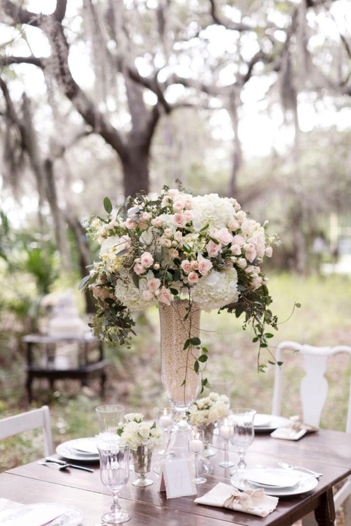 Pink Rustic Elegant Wedding Inspiration Wedding