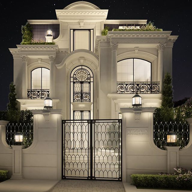 Awesome Home Design Qatar Part - 10: Private Villa Architecture Design | Qatar | Doha |