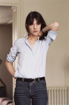 charlotte gainsbourg on the street - Google Search Clothing, Shoes & Jewelry - Women - women's belts - http://amzn.to/2kwF6LI
