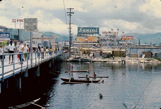 Subic Bay Olongapo | AD37 Subic Bay Olongapo River Summer 1974 | Flickr - Photo Sharing!