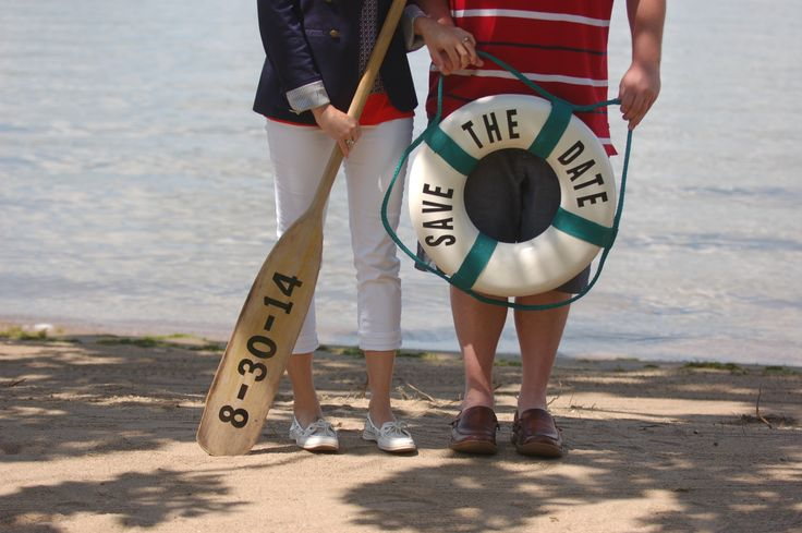 nautical wedding save the date
