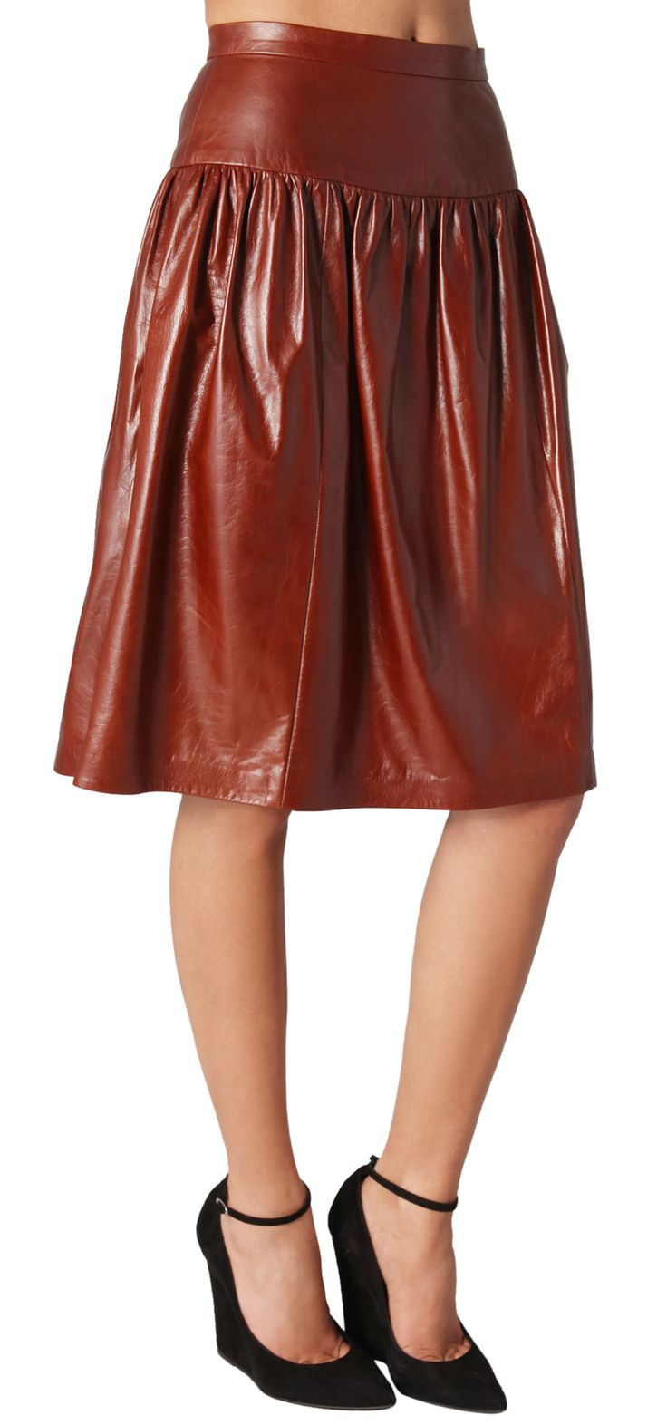 21 best Women Leather Skirt images on Pinterest | Leather skirts ...