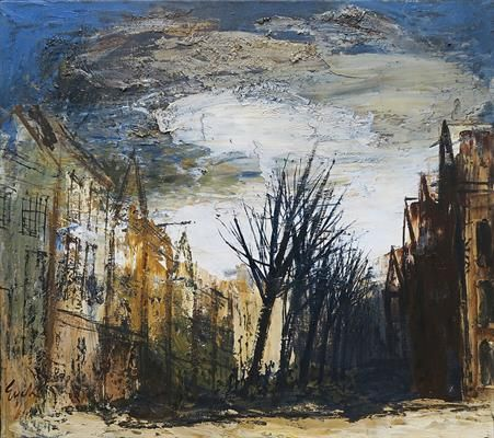 Oude Delft te Delft; Charles Eyck