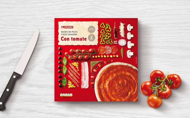 Eroski's Pizza Base on Packaging of the World - Creative Package Design Gallery