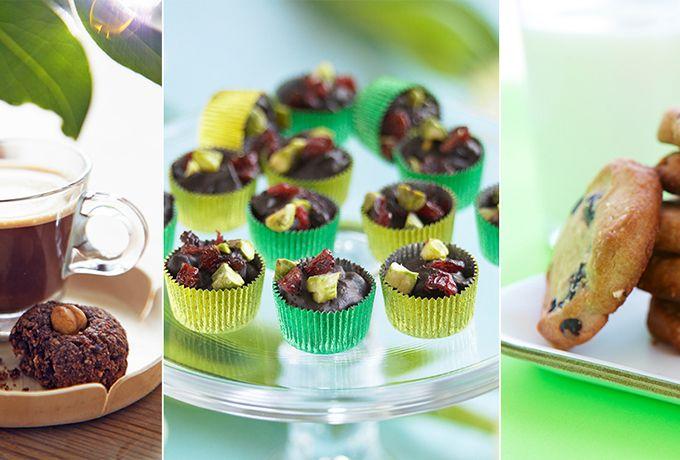 Fem nyttiga recept på sötsaker som kommer att göra ditt liv lite bättre.