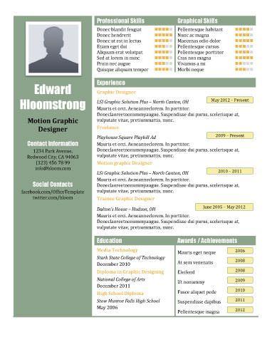 7 best resume images on Pinterest Resume templates, Cv template - fast food resume template