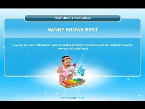 [The Sims Freeplay] - Nanny Knows Best Görevi (Baby Steps -Bebek Adımları- 1.Görev) - http://www.nopasc.org/the-sims-freeplay-nanny-knows-best-gorevi-baby-steps-bebek-adimlari-1-gorev/