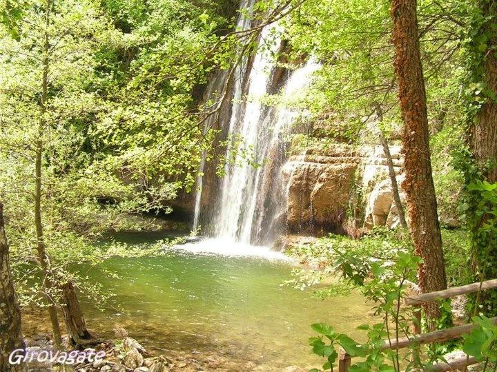 Forcella waterfalls, Acquasanta Terme, Marche