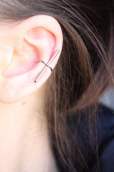 Varie - Orecchino minimal, Non Piercing Ear Cuff - un prodotto unico di SusyDeMarchi su DaWanda