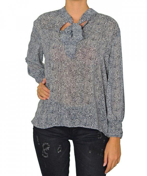 Γυναικεία πουκάμισα μπλούζα Benissimo μαύρη 39683 #γυναικείαπουκάμισα #ρούχα #στυλάτα #fashion #μόδα #γυναίκες #βραδυνά #μεταξωτά