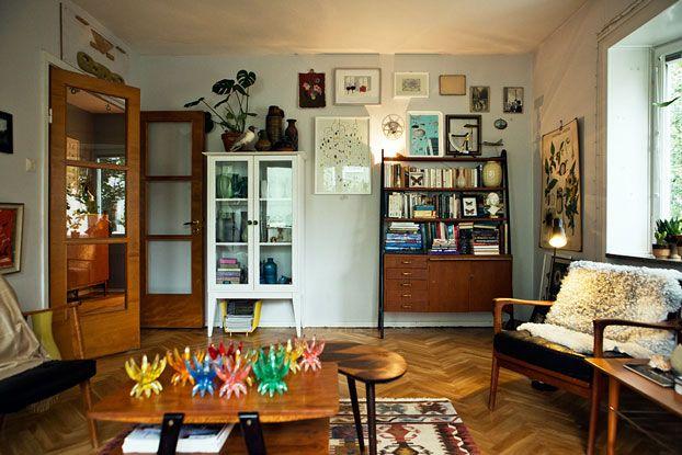 Bohemian Arty Apartment Interior