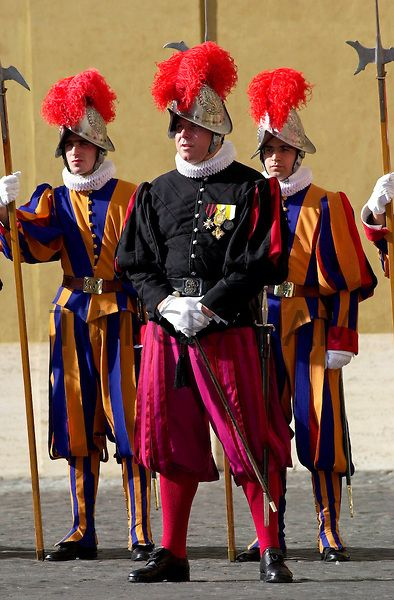 Swiss Guards at the Vatican - Photo by Tim Graham