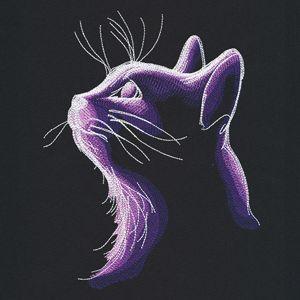 Dark Cat design (UT17349) from UrbanThreads.com