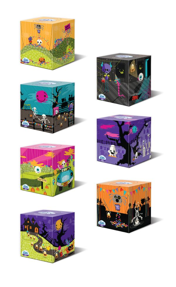 Puffs for Target Halloween 2011 Collection - Designed at Interbrand