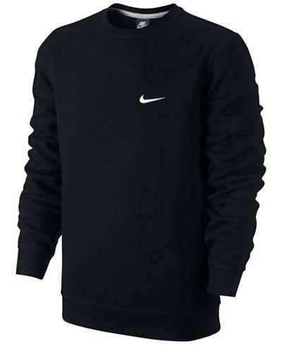 Nike Men's Classic Fleece Crew Pullover - Hoodies & Sweatshirts - Men - Macy's