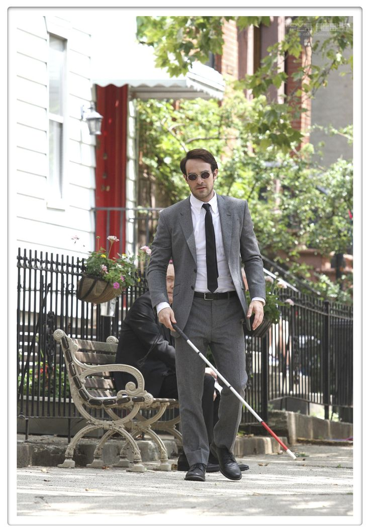 Charlie Cox as Matt Murdoch In Marvel and Netflix's Daredevil.